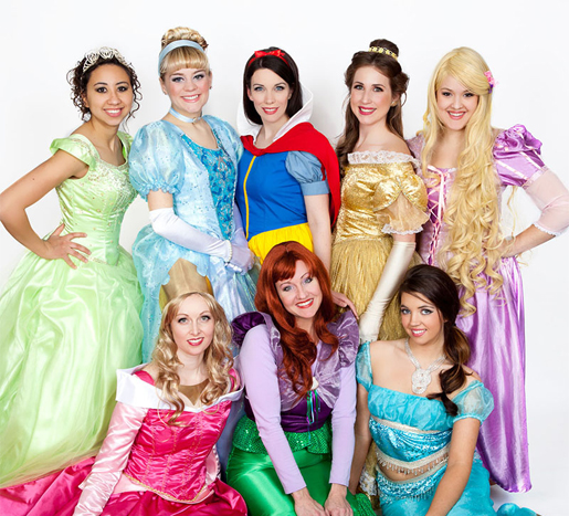 disney princesses for birthday party baltimore maryland